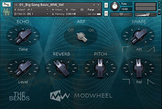 Modwheel The BENDS KONTAKT